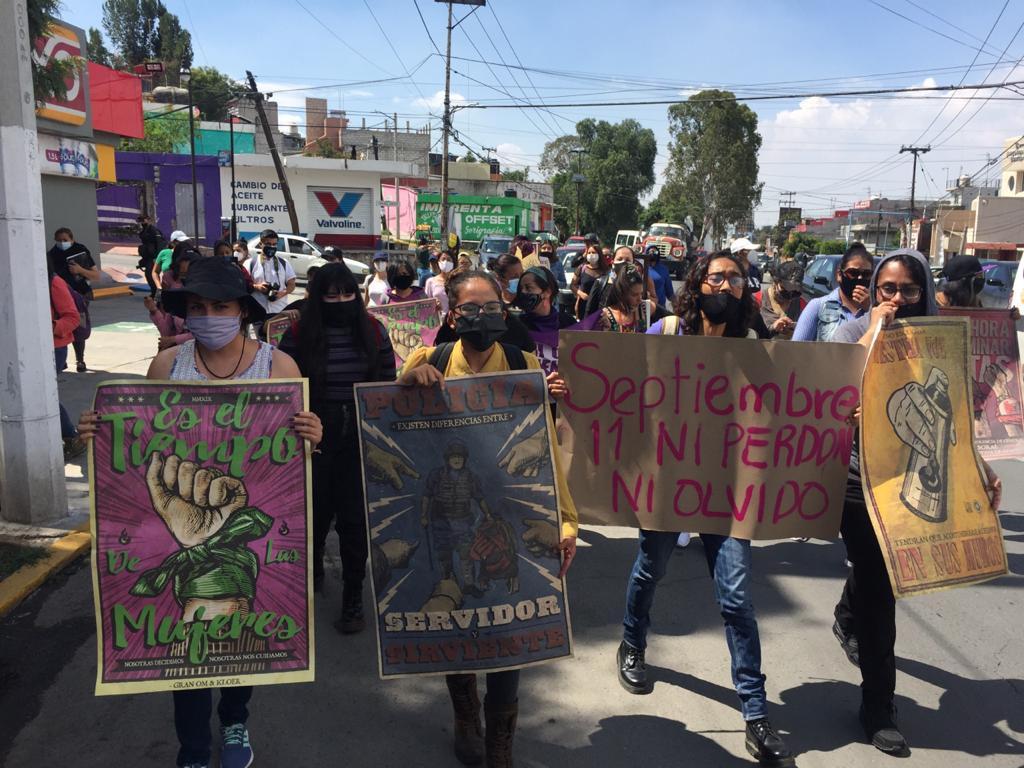 Activistas de Ecatepec