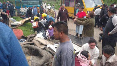 20 peregrinos heridos en Tianguistenco