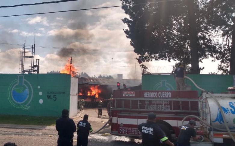 Explosión deja 2 muertos en Tianguistenco