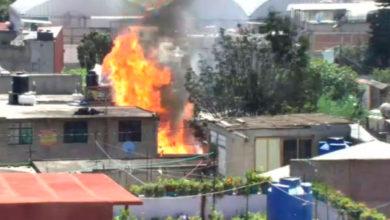 Incendio en Coacalco
