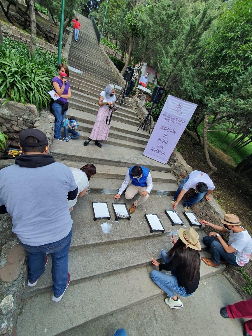 jóvenes decorarán El Calvario de Toluca