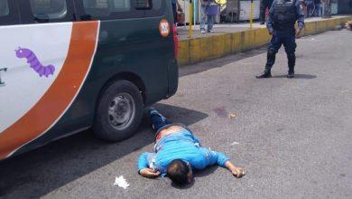 Matan de un balazo a checador de transporte público