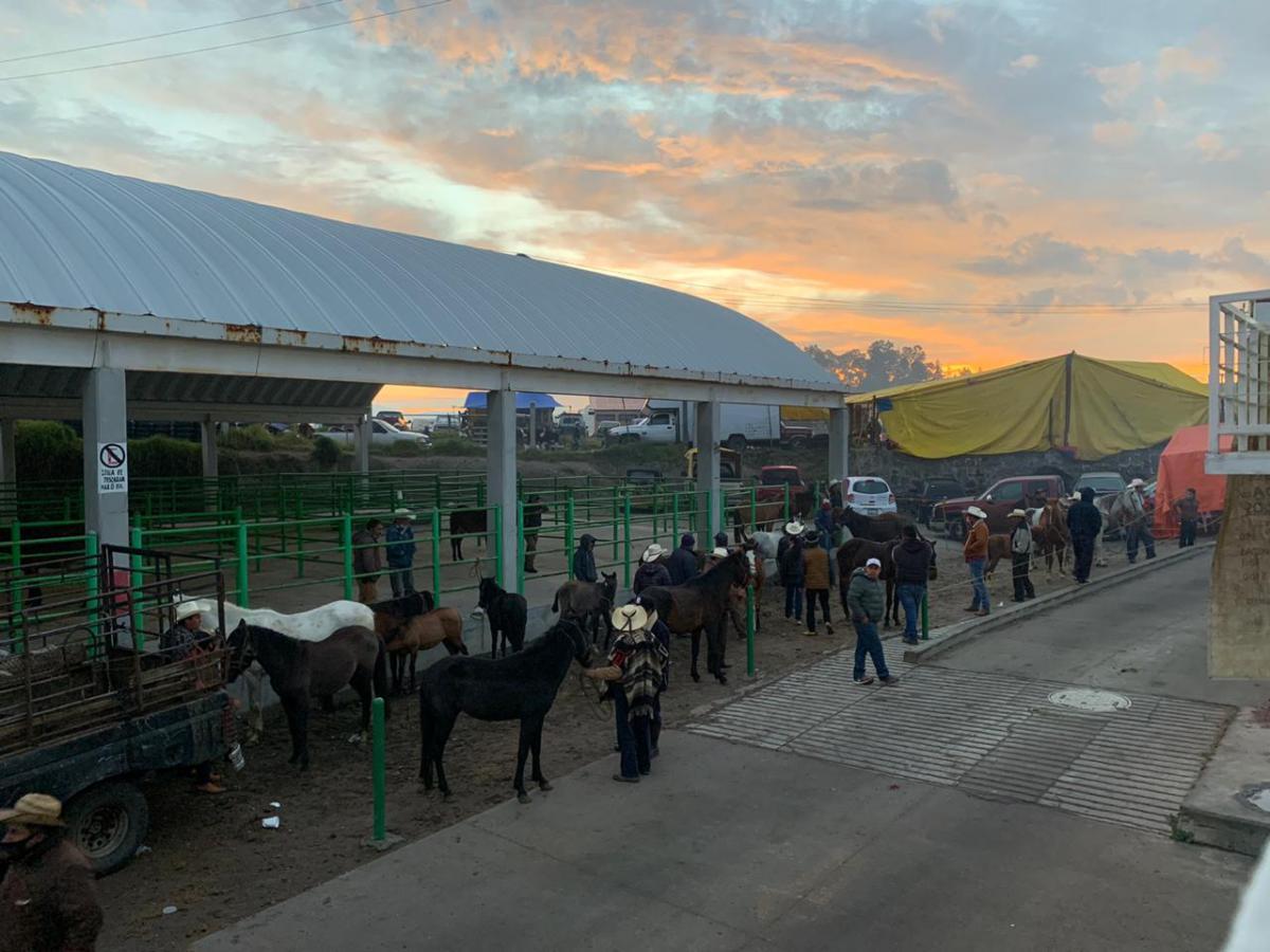 Plaza de San Bernabé en Almoloya de Juárez