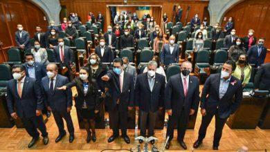 Protesta de la Legislatura Local