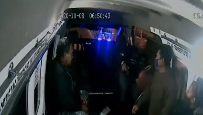 robo en transporte público
