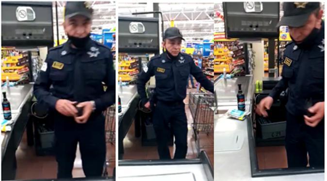 policía ladrón de Neza