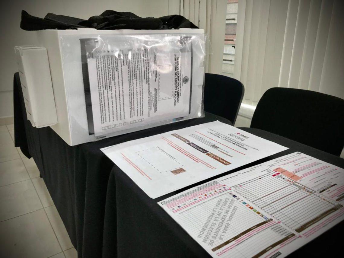 reutilizar material electoral