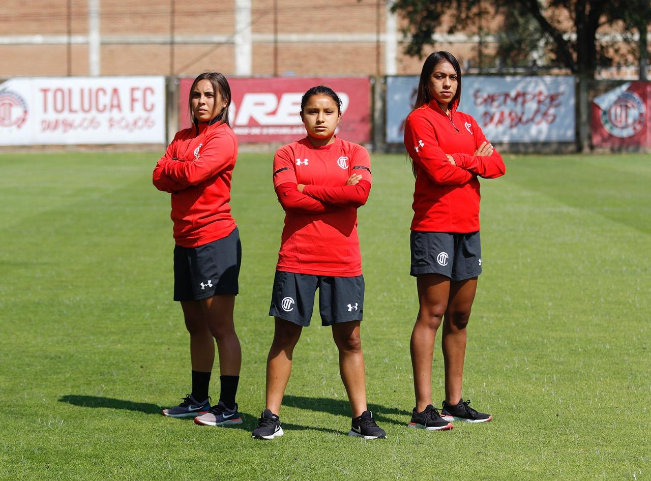 jugadoras del Toluca