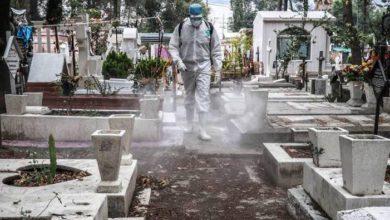 panteones cerrados por pandemia