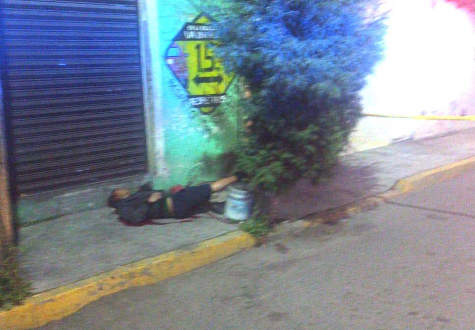 Homicidio cerca de la alcaldía en Mexicaltzingo