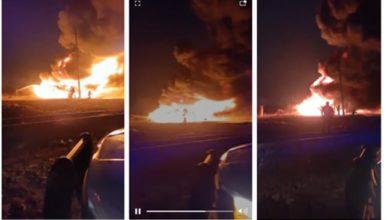 Incendio en Neza
