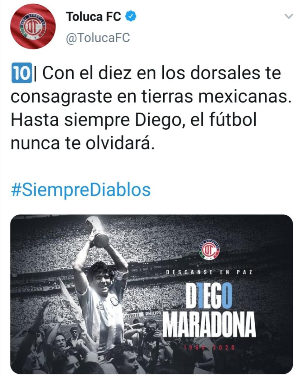 Maradona muere