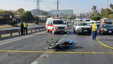 otro lamentable accidente en motocicleta