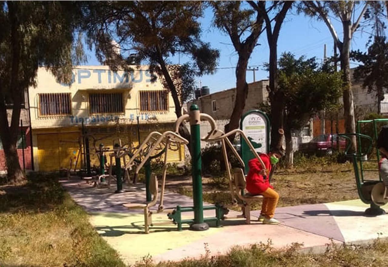 Tratan de rescatar parque en Ecatepec