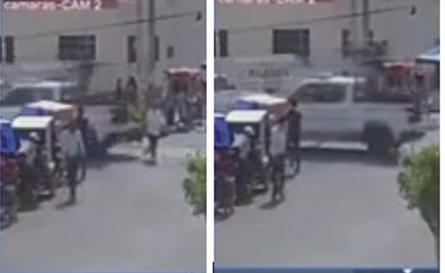 Guardia Nacional atropella a abuelita