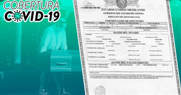 certificados de defunción