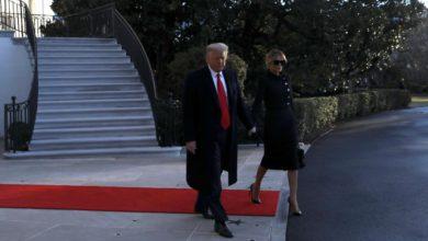 Trump deja la Casa Blanca