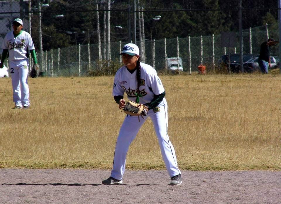 La pitcher toluqueña Diana Hernández
