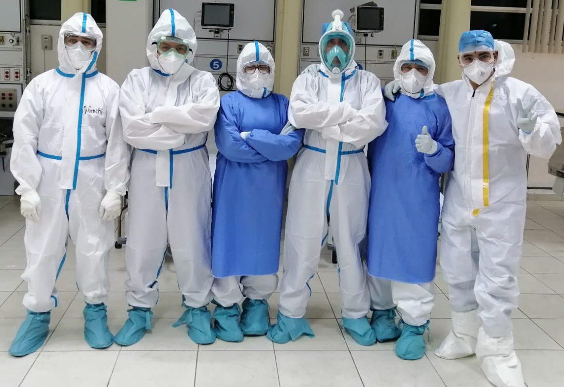 Enfermeros y enfermeras