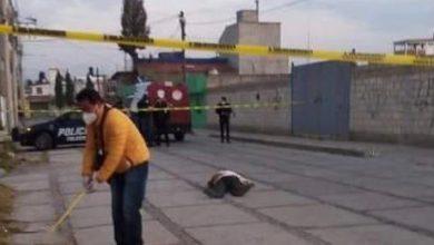 Hombre asesinado a golpes