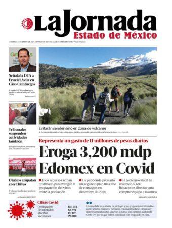 Portada Eruviel Ávila La Jornada