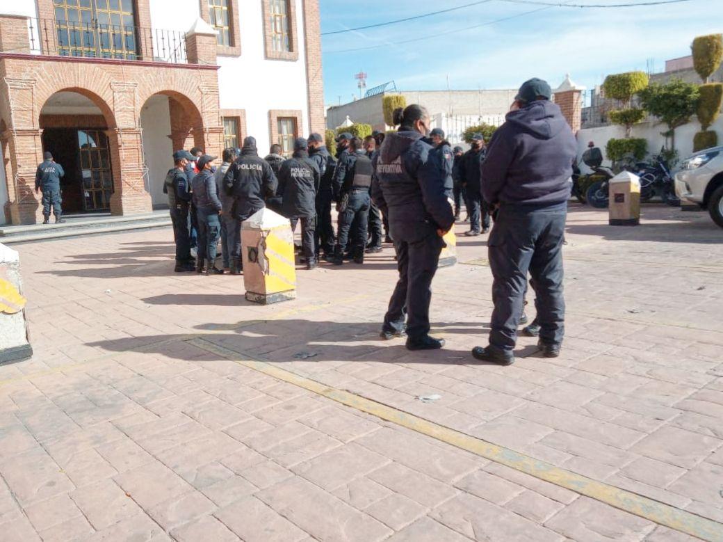 Protesta de Policías