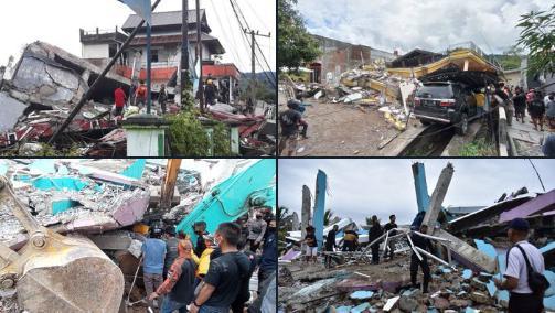 Sismo en Indonesia