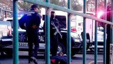 balacera entre policías y ladrones