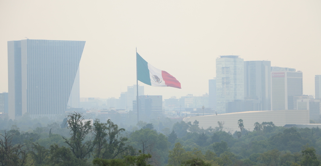 Calidad del aire es EXTREMADAMENTE ALTA en el Valle de México