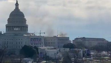 Cierran accesos al Capitolio de EE.UU. tras incendio