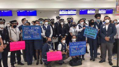 Trabajadores de Interjet se van a huelga por falta de pago