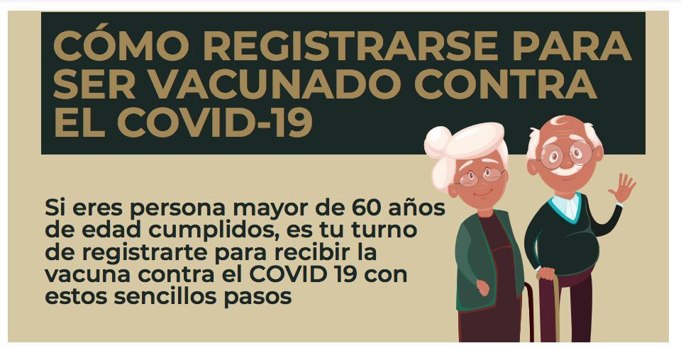 Cómo registrarse para ser vacunado contra el Covid