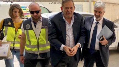 El empresario mexicano Alonso Ancira, durante su detención en Palma de Mallorca, España, en mayo de 2019. Foto Juan Pedro Martínez