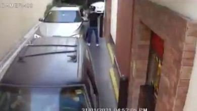 Video | Asaltan a automovilista formado en Automac de McDonald's