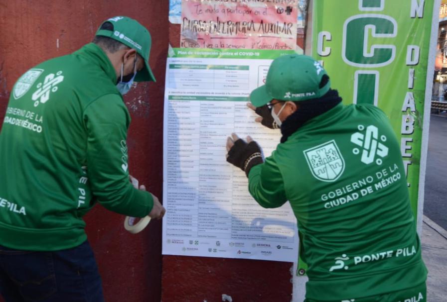 Inicia Vacunación en la CDMX/Foto tomada del Twitter de Claudia Sheibaum