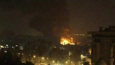 Ataque a Siria. Foto: Twitter