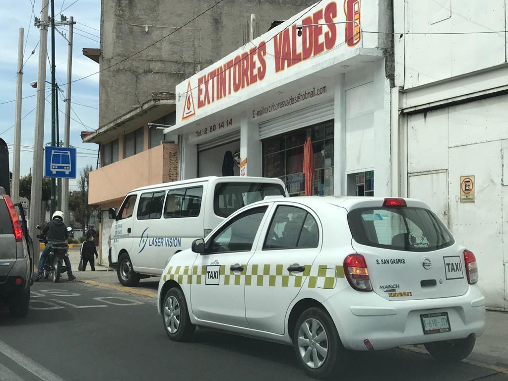 robo de taxis