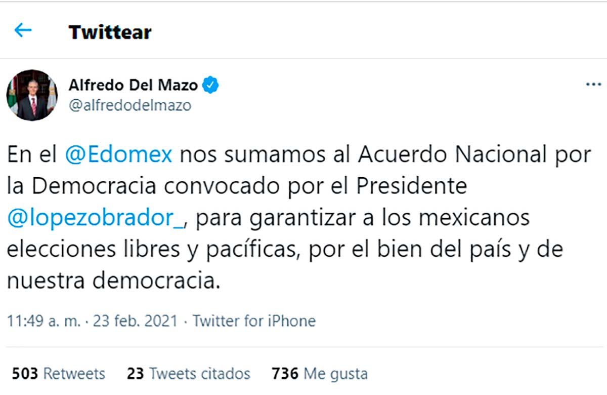 Pacto por la democracia