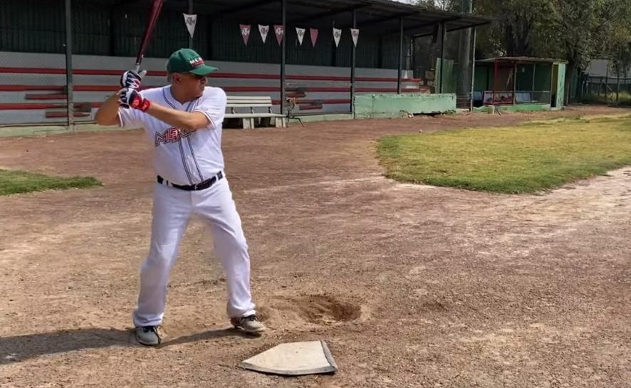 El presidente López Obrador durante una práctica de su deporte favorito, el 2 de marzo de 2021. Foto tomada del video difundido a través del Twitter de @lopezobrador_