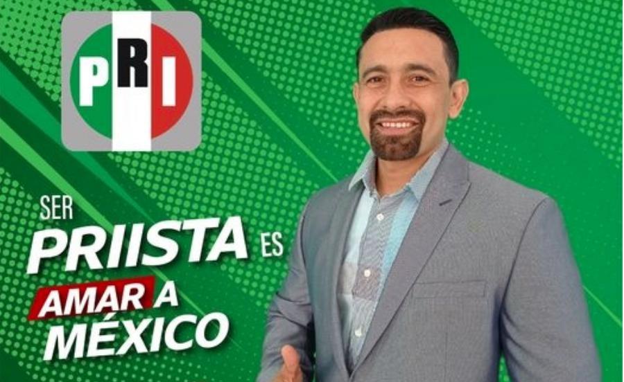 La noche del jueves fue asesinado con arma de fuego el candidato del PRI a la presidencia municipal en Nuevo Casas Grandes, Yuriel Armando González Lara. Foto tomada de su cuenta de Facebook