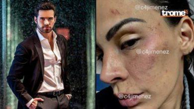 A la izquierda el actor Eleazar Gómez