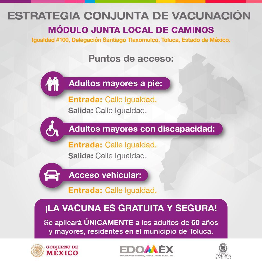 vacunación Toluca
