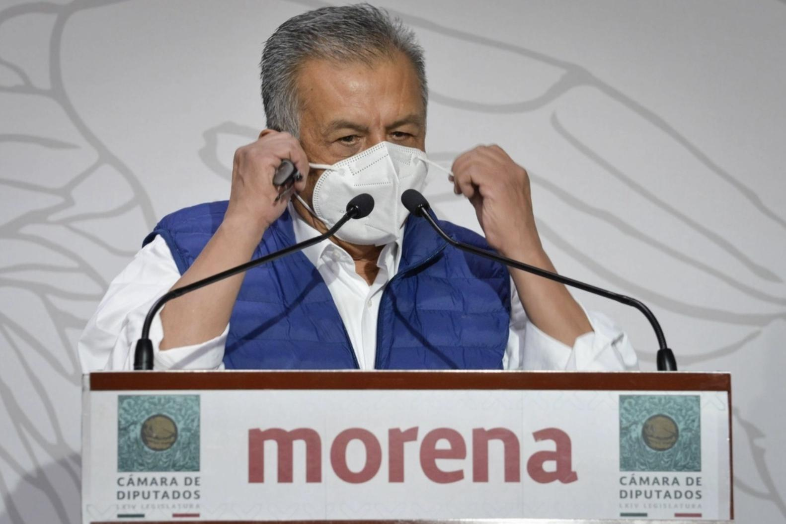 En imagen de archivo, el diputado Saúl Huerta Corona, señalado como presunto responsable de abuso sexual. Foto Cuartoscuro