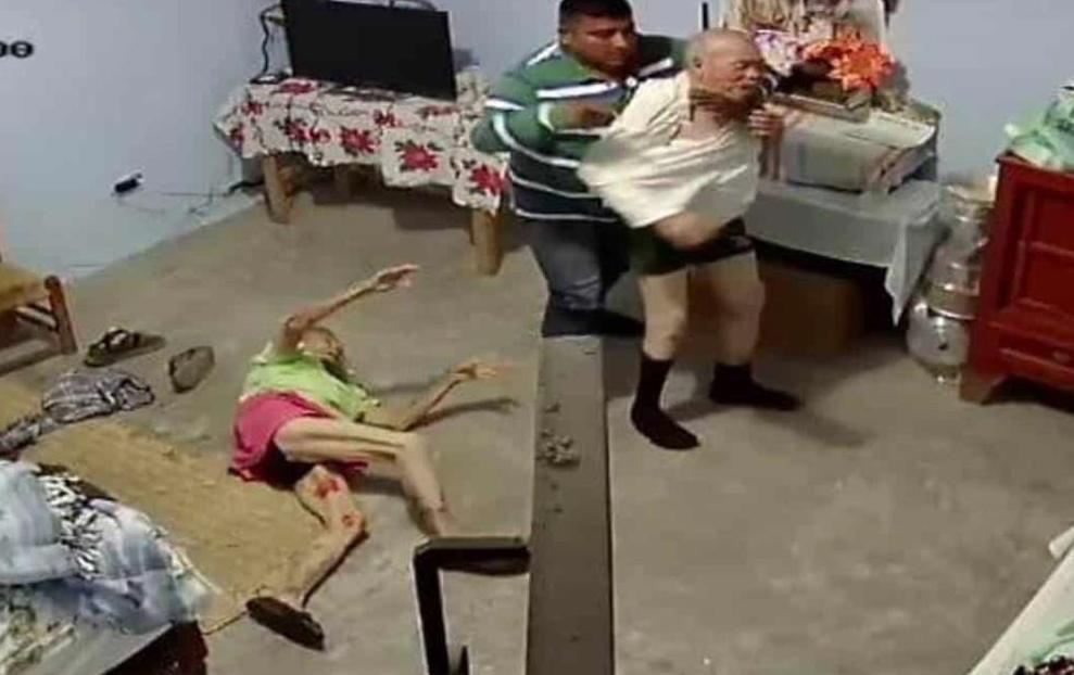 Asalto a pareja de ancianos