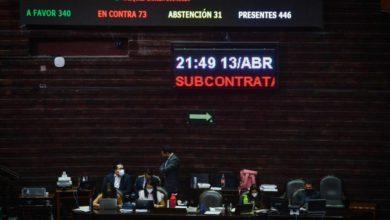 La Cámara de Diputados aprobó anoche, en lo general, la reforma que limita el 'outsourcing'. Foto Cuartoscuro