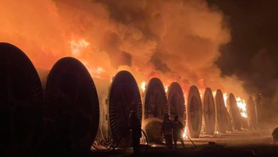 Incendio en Tezoyuca