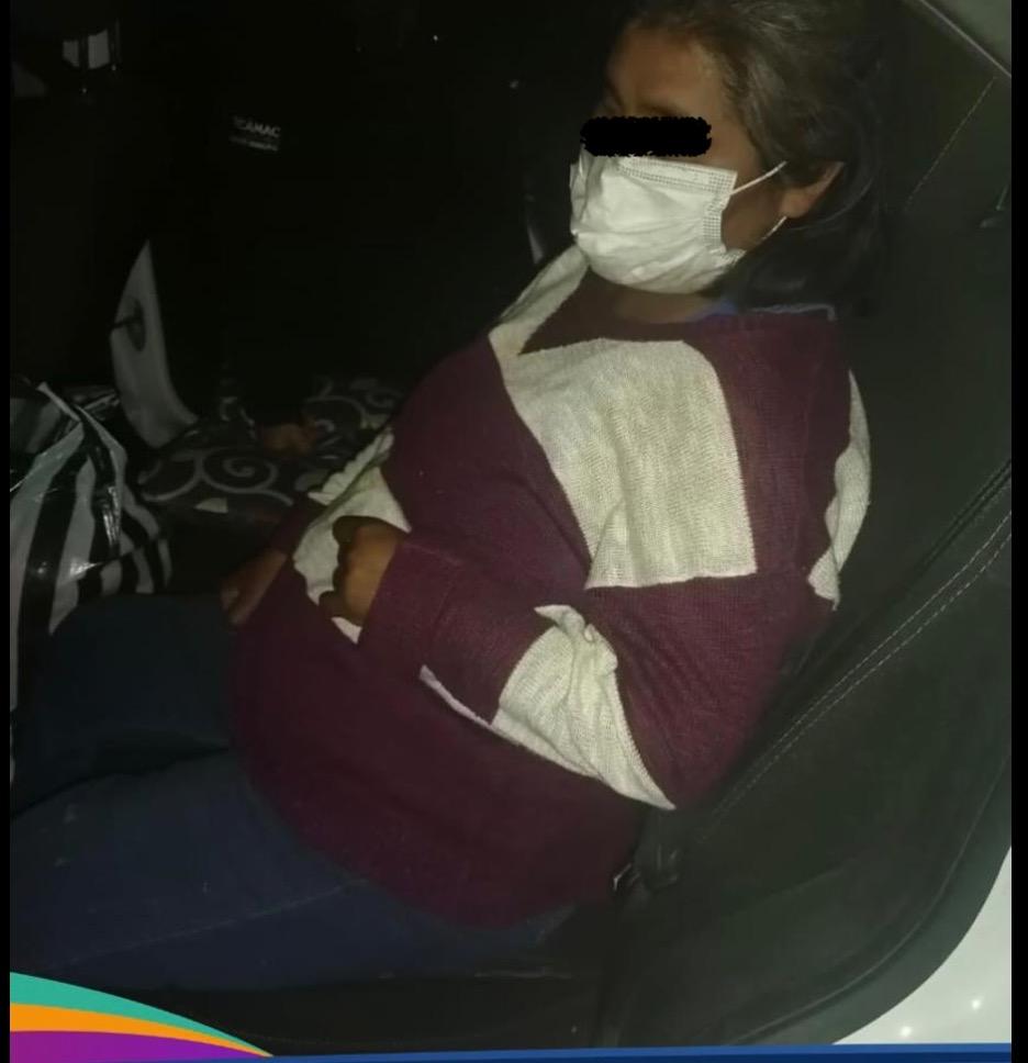 Mujer extraviada