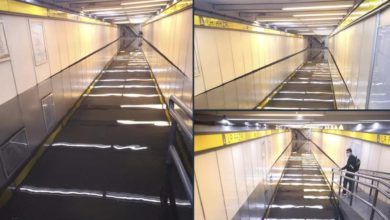 Inundación en Metro La Raza
