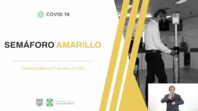 Semáforo Amarillo en CDMX