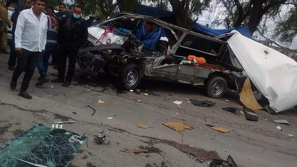 accidente en Zumpango